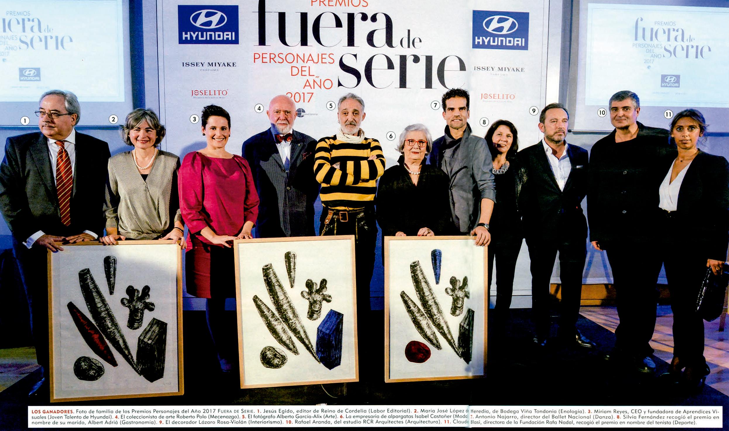 Premios el blog de udl libros for Almacenes fuera de serie