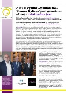 Premio Relatos Jazz Ramos Ópticos