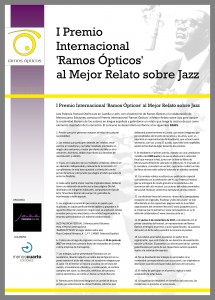 Premio Relatos Jazz Ramos Ópticos (bases)